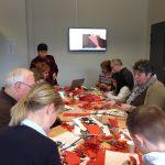 Atelier découpage artistique, mars 2015